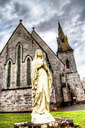 County Clare Posters - Virign Mary Poster by Natasha Bishop