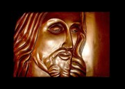 Christ Reliefs Framed Prints - Virtue Framed Print by A Yasini