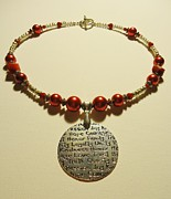 Red Jewelry Originals - Virtuous Woman by Jenna Green