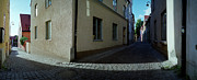 Europe Photo Originals - Visby Street - Walled City by Jan Faul