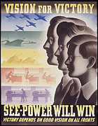 Will Power Photo Posters - Vision for Victory Poster by Purcell Pictures