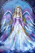 Khatuna Buzzell Metal Prints - Vision Of Angel  Metal Print by Khatuna Buzzell