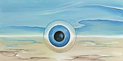 Surrealistic Painting Prints - Vision Thing Print by David Junod