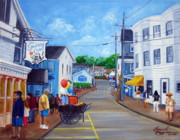 Streetscape Paintings - Visions of Maine 4 by Leonardo Ruggieri