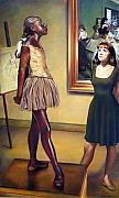 Degas Pastels - Visit to the Museum by Patrick Anthony Pierson