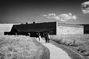 visitors centre at Culloden moor battlefield site highlands scotland Print by Joe Fox
