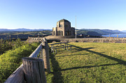Oregon State Art - Vista House at Crown Point OR. by Gino Rigucci
