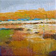 Representational Landscape Prints - Vista no. 10 Print by Melody Cleary