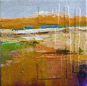 Small Abstract Paintings - Vista no. 9 by Melody Cleary