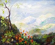 Elaine Bailey - Vista over the Blueridge