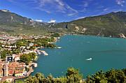 Martina Fagan - Vista sul Riva del Garda