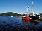 Inverarary Photos - Vital Spark by Laura McGlinn