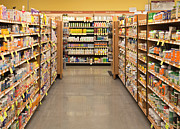 Aisle Photos - Vitamin and Supplement Aisle by David Buffington