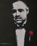 Vito Andolini Corleone Print by Eric Dee
