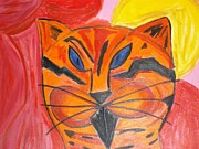 Movie Posters Paintings - Vito The Cat by David Grondin