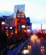 Cityscape Digital Art Metal Prints - Viva Las Vegas Painting Metal Print by Stefan Kuhn