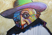 Surrealist Painter Framed Prints - Viva Pablo Framed Print by Katharine Turk-Truman