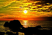 Cornwall Photos - Vivid Sunset by Paul Howarth