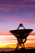 Telescopes Prints - VLBA at sunrise 2 Print by David Nunuk