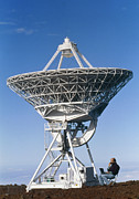 Mauna Kea Photos - Vlba Radio Telescope by G. Brad Lewis