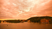 Prague Photos - Vltava View by Madeline Ellis