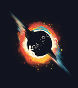Outer Space Prints - Void Print by Budi Satria Kwan