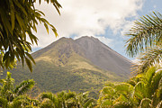 Gasses Prints - Volcan Arenal Costa Rica Print by Craig Lapsley