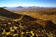 Panoramic Pyrography - Volcanic Black desert by Vera Golovina