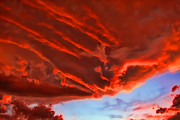Funnel Clouds Prints - Volcanic Cloud Print by Ryan Seek