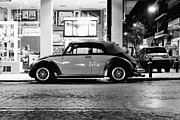 Vw Beetle Framed Prints - Volkswagen Beetle Framed Print by Hristo Hristov