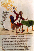 1770s Prints - Voltaires Prayer, 1756 Print by Granger