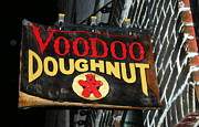 Oregon Photos - VooDoo Doughnut by Helen Fern