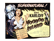 1957 Movies Framed Prints - Voodoo Island, Beverly Tyler, Boris Framed Print by Everett