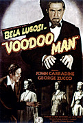 Horror Movies Photos - Voodoo Man, Bela Lugosi, John Carradine by Everett