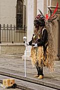 Kathleen K Parker - Voodoo Man in Jackson Square New Orleans