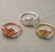 Custom Ring Jewelry - Vortex Ring by Heather Jordan