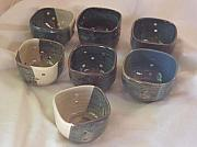 Candle Holder Ceramics - Votive Holders by Dawn Kleinman