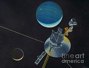 Neptune Prints - Voyager 2 Print by Science Source