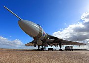 Clare Scott Prints - Vulcan XH558 Print by Clare Scott