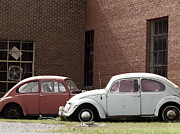 Vw Bug Prints - VW Final Resting Place Print by Ann Powell