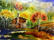 Spring Time Painting Originals - W 40 Ayder 2 by Dogan Soysal