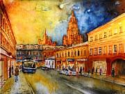 W 47 Moscow Print by Dogan Soysal