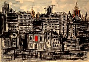 Moscow Paintings - W 8 Moscow by Dogan Soysal
