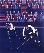 W J Print by Yack Hockey Art