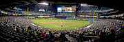 Major League Posters - WA0020 Safeco Field Panoramic Poster by Steve Sturgill