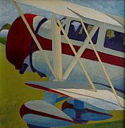 Golden Age Of Flight Posters - Waco Cabin Poster by Ron Smothers