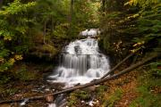 Munising Prints - Wagner  Falls Print by James Marvin Phelps