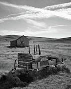 Old West Photo Originals - Wagon at Bodie by Matt MacMillan