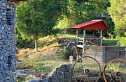 Historic Mill Framed Prints - Wagon Shed Framed Print by Suzanne Gaff