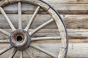 No Spokes Posters - Wagon Wheel Poster by Bryan Mullennix